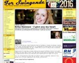 Artikel i For Swingende: SINGELOMTALE: Erika Hansson - I give you my heart
